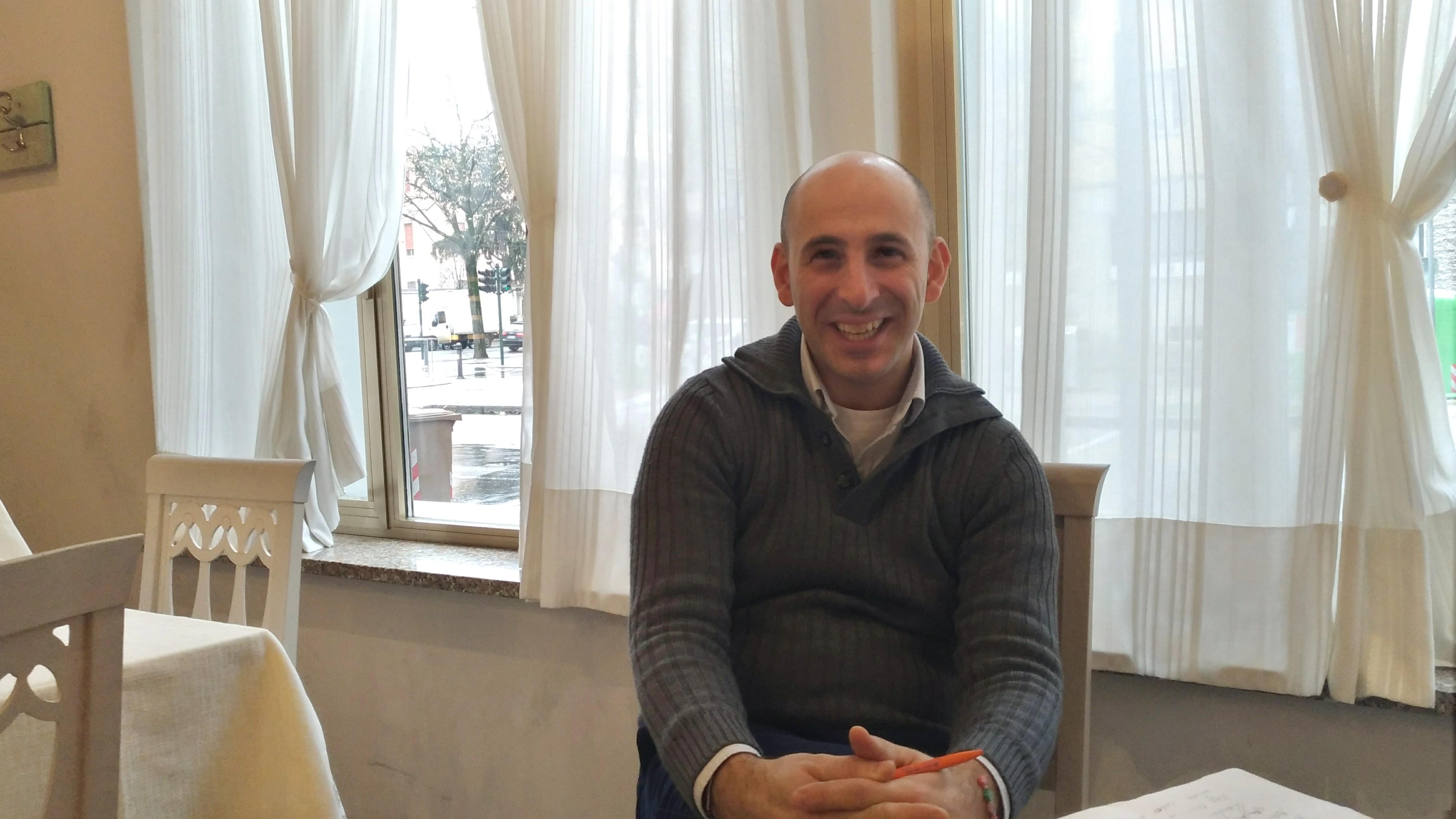 Salvatore Buonocore-bas | Directeur général restaurant pizzeria Luna Blu à Parme
