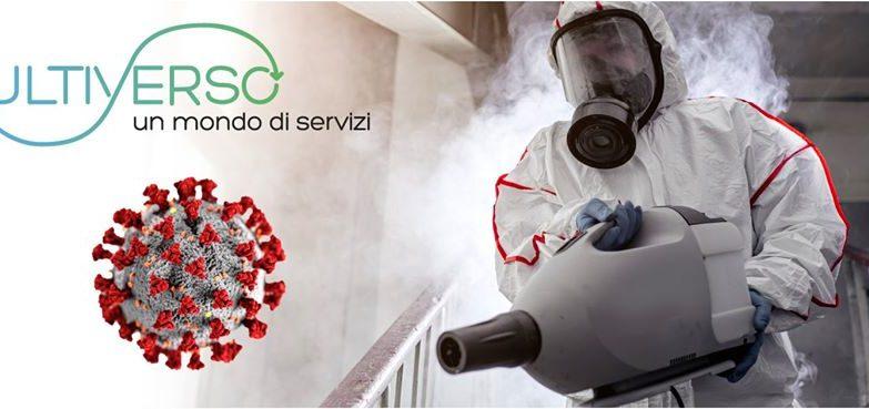 Sanificazione Disinfezione Ambienti Covid-19 per Aziende ed Enti Rimini Riccione Cattolica Cesenatico Forli Cesena Multiverso Servizi Srl