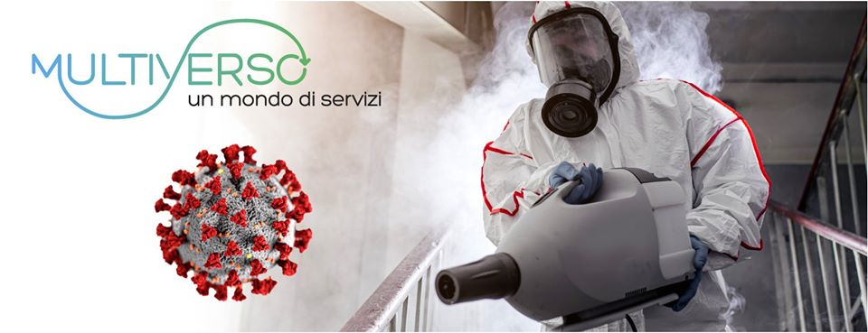 Sanificazione Disinfezione Ambienti Covid-19 per Aziende ed Enti
